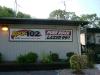 Rock 102 & Lazer 99.3 Sign