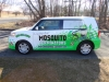 Mosquito Terminators Vehicle Wrap - side view
