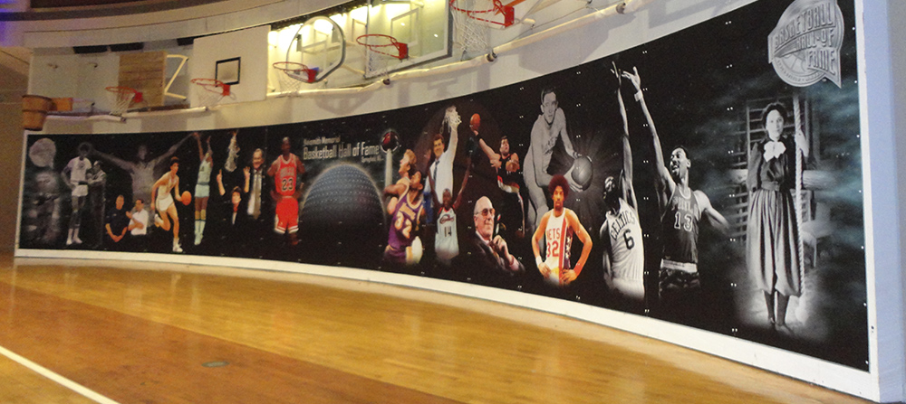 Shooting for Perfection - Basketball Hall of Fame